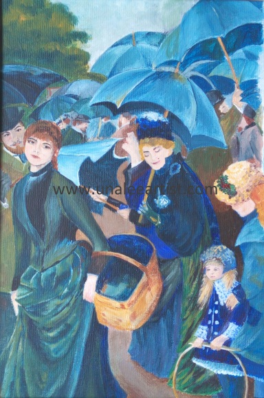 The Umbrellas Renoir watermark